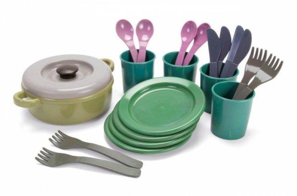 GREEN BEAN Zestaw obiadowy z recyklingu