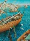 Okręt bizantyński vs okręt arabski od VII do XI wieku