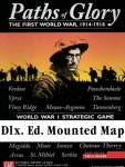 Paths of Glory Dlx. Ed. Mounted Mapboard