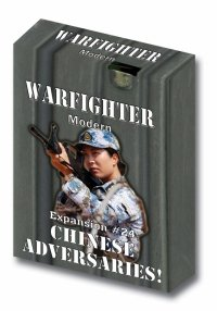 Warfighter Modern - Expansion #24 Chinese Adversaries