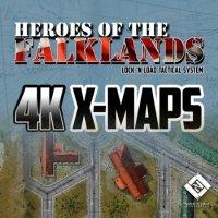 LnLT: Heroes of the Falklands: 4K X-Maps