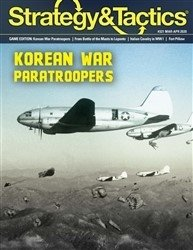 Strategy & Tactics #321 Korean War Pataroopers