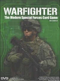 (USZKODZONA) WARFIGHTER. The Modern Special Forces Card Game, 4th Edition