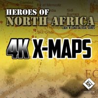 LnLT: Heroes of North Africa: 4K X-Maps
