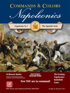 Commands & Colors: Napoleonics Exp.1 Spanish Amy 3rd Printing