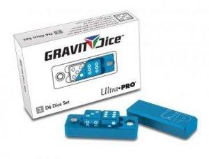 Gravity Dice set 2 (D6) Cobalt