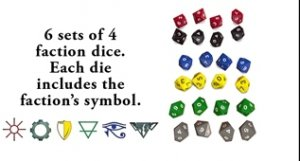 For What Remains: Dice Pack