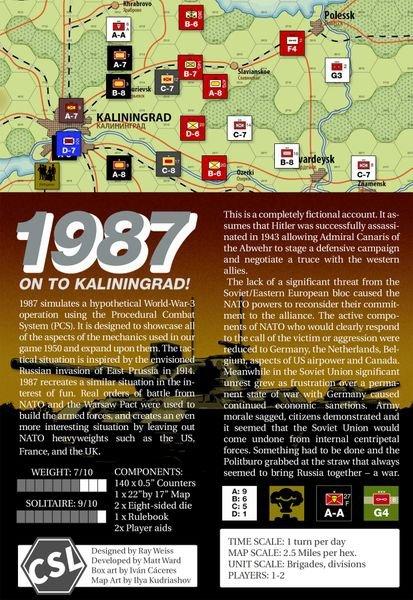 1987: On To Kaliningrad!