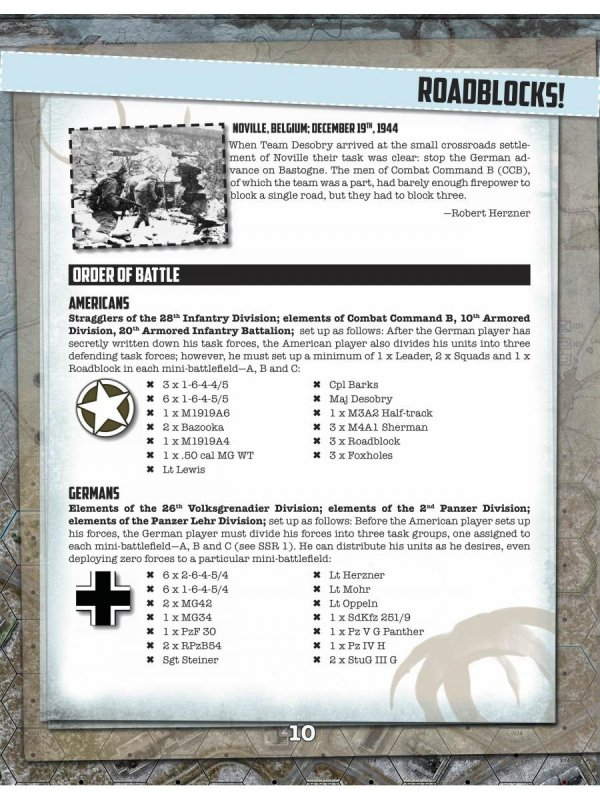 Noville Bastogne's Outpost 2nd edition