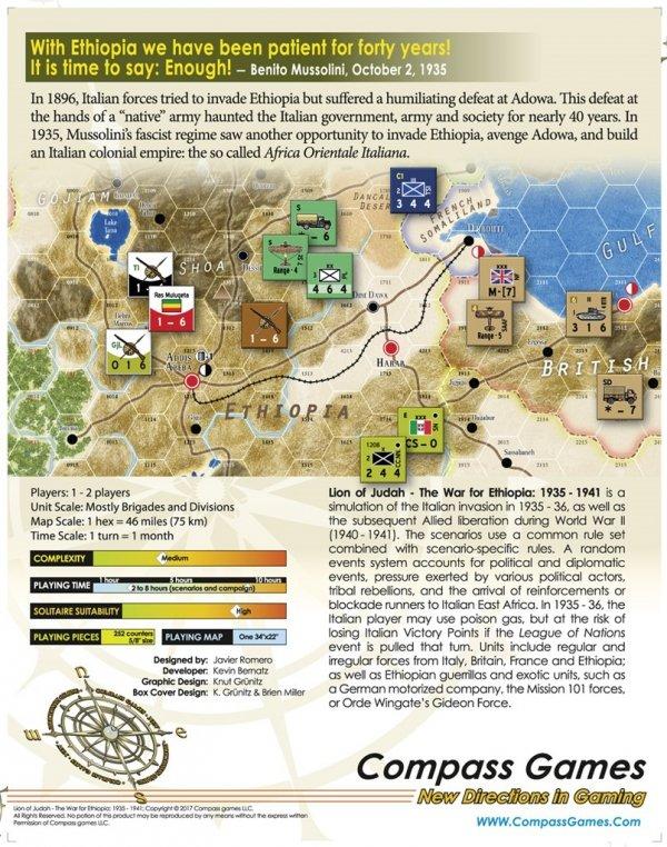 Lion Of Judah: The War For Ethiopia 1935-1941