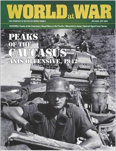 World at War #61 Peaks of the Caucasus