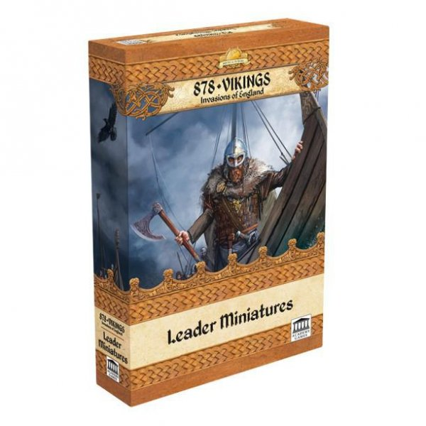 878 Vikings Leader Miniatures