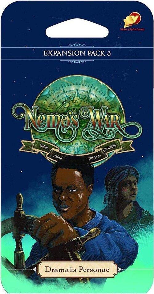 Nemo's War, Expansion #3: Dramatis Personae