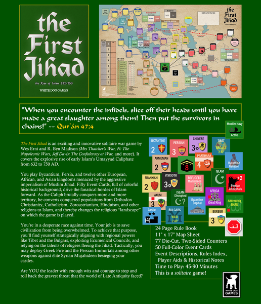The First Jihad: The Rise of Islam 632-750