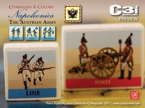 Commands & Colors: Napoleonics Exp.3 Austrian Army 3rd Printing