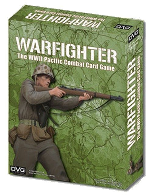 WARFIGHTER. The WWII Pacific Combat Card Game
