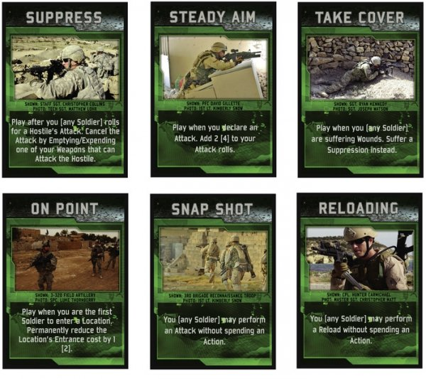 WARFIGHTER. The Modern Special Forces Card Game, 3rd Edition