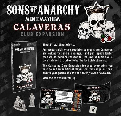 Sons of Anarchy - Calaveras Club Exp