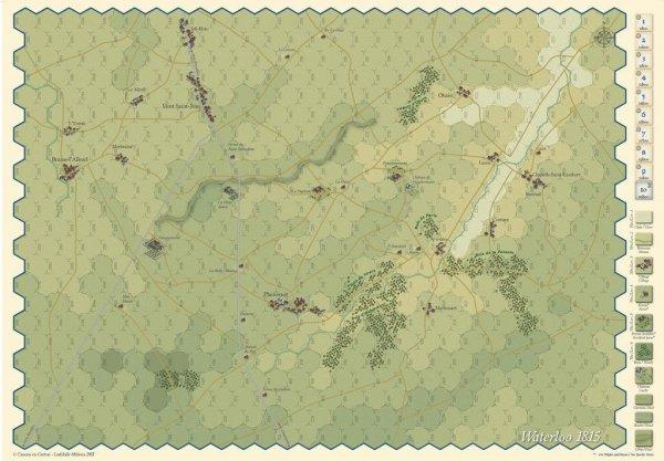 Waterloo and Les Quatre-Bras 1815