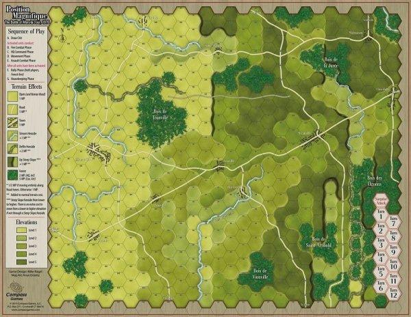 Paper Wars #81 Position Magnifique Mars le Tour 1870