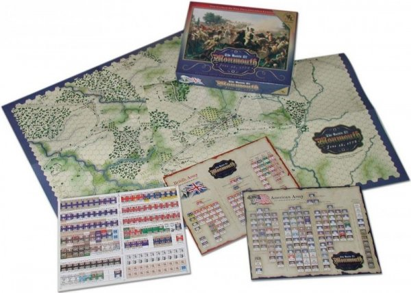 The Battle of Monmouth Reprint