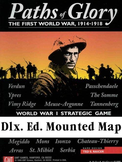 Paths of Glory Dlx. Ed. Mounted Mapboard