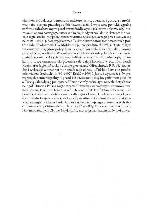 Polityka Polski wobec Turcji i akcji antytureckiej w wieku XV do utraty Kilii i Białogrodu (1484)