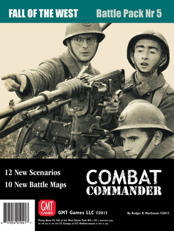Combat Commander BP #5: Fall of the West