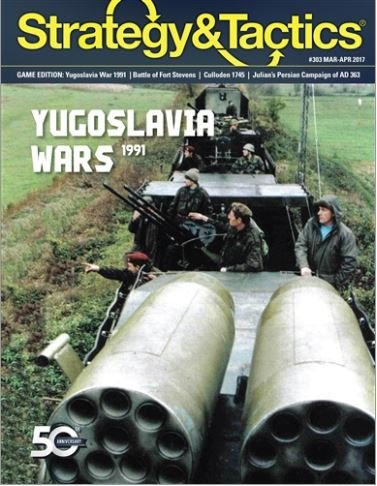 Strategy & Tactics #303 War Returns to Europe: Yugoslavia 1991
