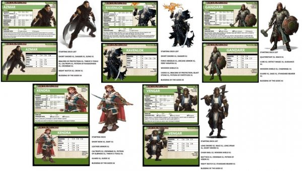 Pathfinder Adventure Card Game: Rise of the Runelords Base Set