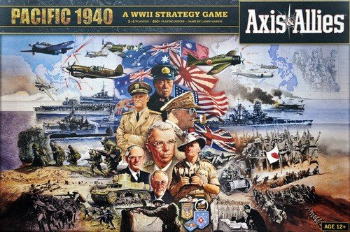 Axis & Allies Pacific 1940 Delux