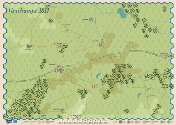 Montmirail and Vauchamps 1814