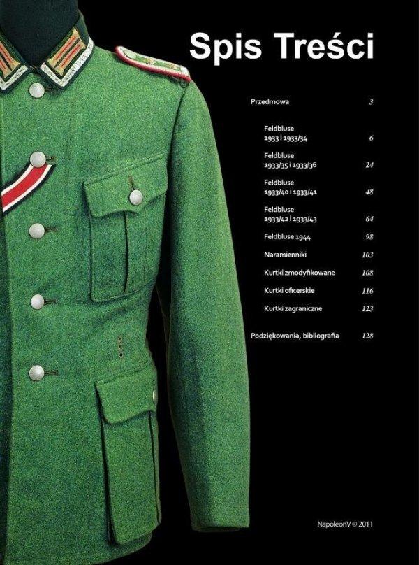 FELDBLUSE Kurtka polowa żołnierza niemieckiego 1933-1945