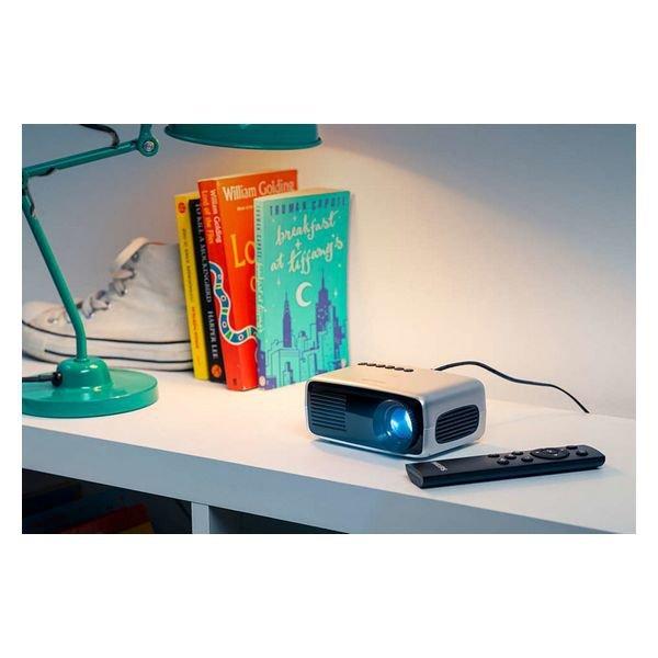Projektor Philips Neopix NPX240/INT 1080 px USB 2.0 Szary