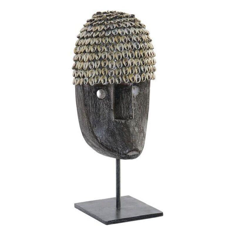 Ozdoby DKD Home Decor Tusz Bambus Muszle (6 x 12 x 36 cm)