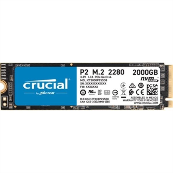Dysk Twardy Crucial P2 SSD 2 TB M.2