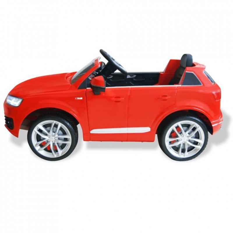 Elektryczny samochód dla dzieci, Audi Q7, czerwony,  6 V