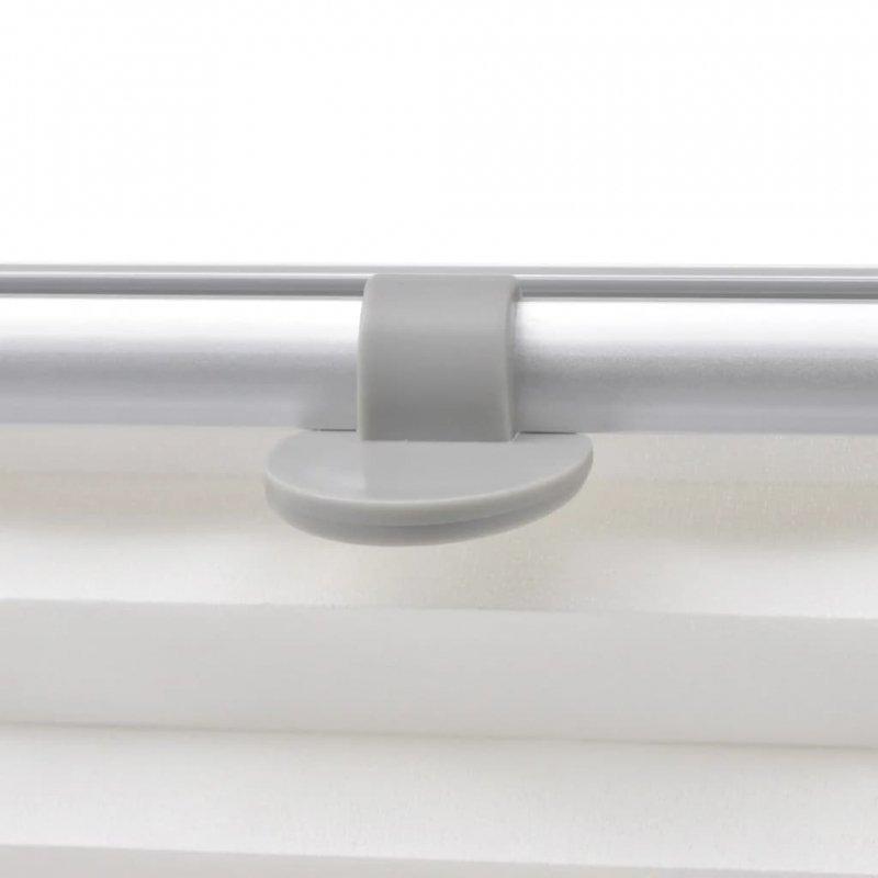 Roleta plisowana biała, U08/808