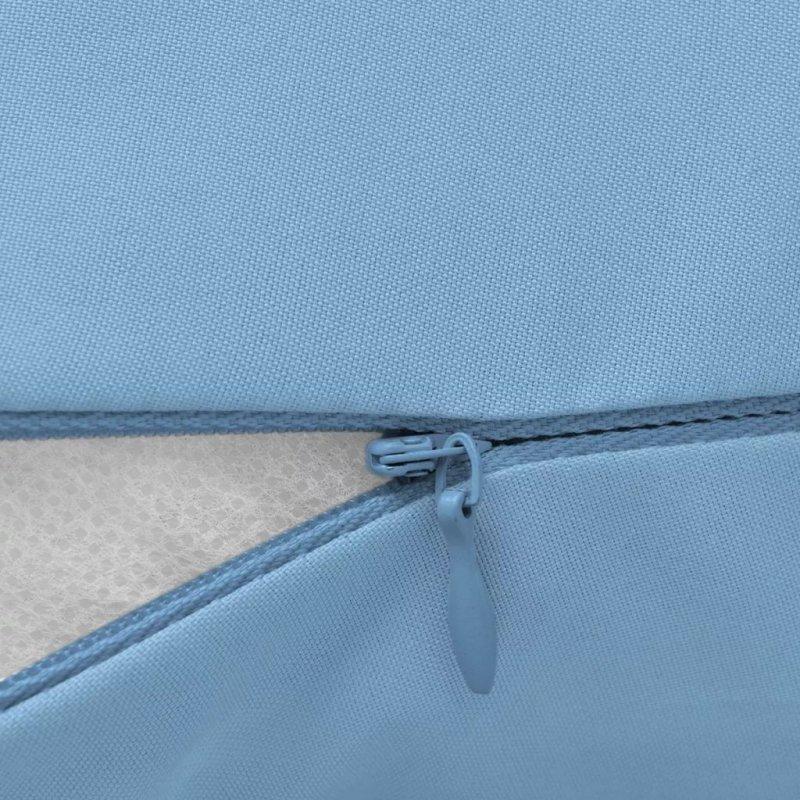 Poduszka dla ciężarnej 90x145 cm, jasnoniebieska