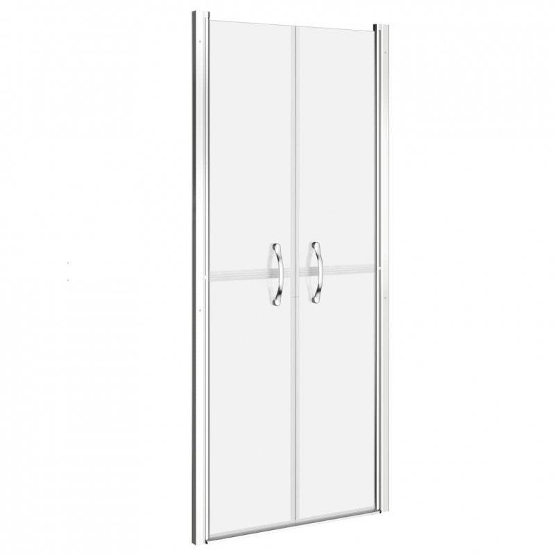 Drzwi prysznicowe, szkło mrożone, ESG, 71x190 cm