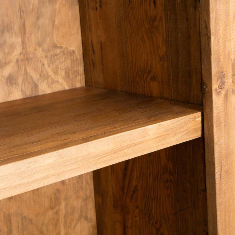 Szafka do łazienki, lite drewno sosnowe z odzysku, 48x32x170 cm
