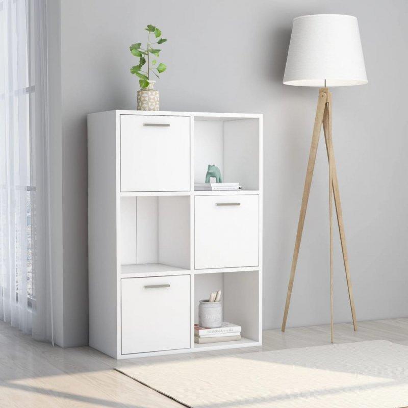 Szafka, biała, 60x29,5x90 cm, płyta wiórowa