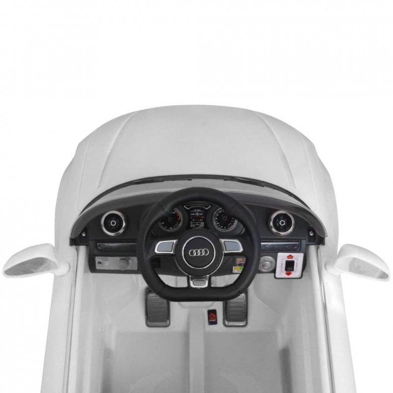 Elektryczny samochód dla dzieci z pilotem Audi A3 białe