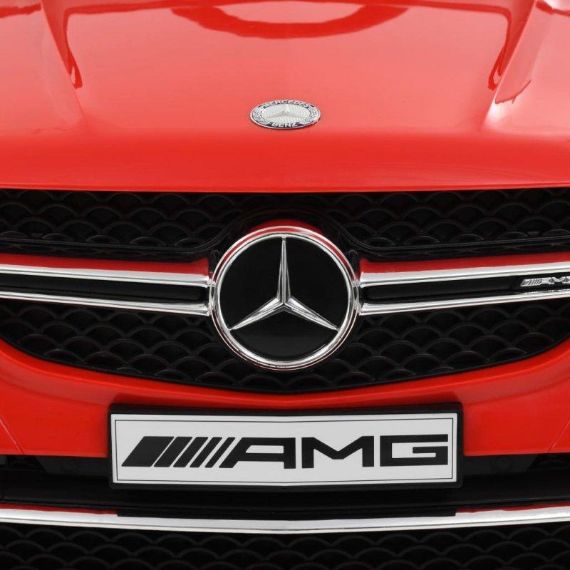 Samochód dla dzieci Mercedes Benz GLE63S, plastikowy, czerwony