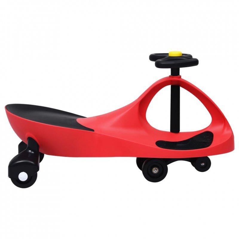 Jeździk balansowy dla dzieci, z klaksonem, czerwony