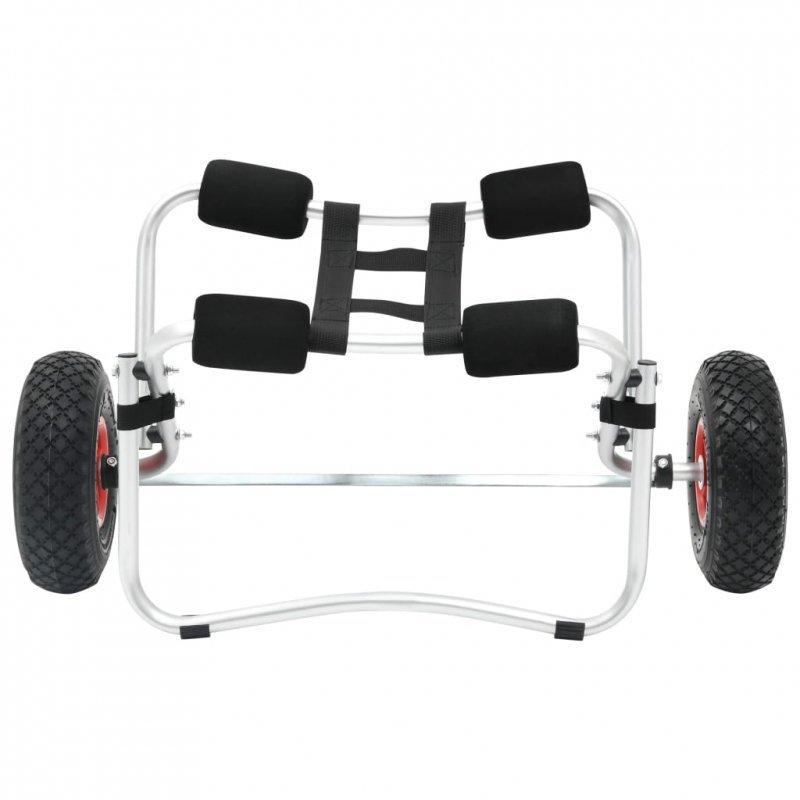 Wózek do transportu kajaka, aluminiowy