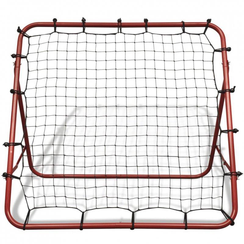 Regulowana bramka piłkarska, 100 x 100 cm