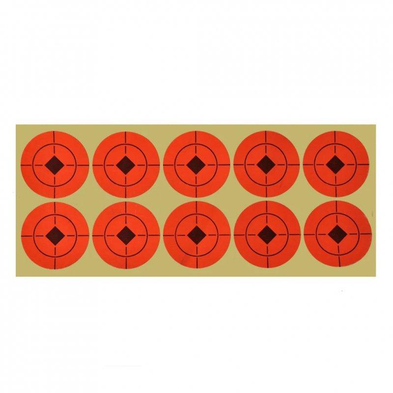 Cele strzelnicze, obrotowe, automatyczny reset, 4+1