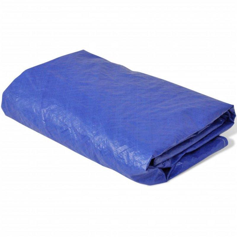 Plandeka na basen, okrągła, PE, 540 cm, 90 g/m²