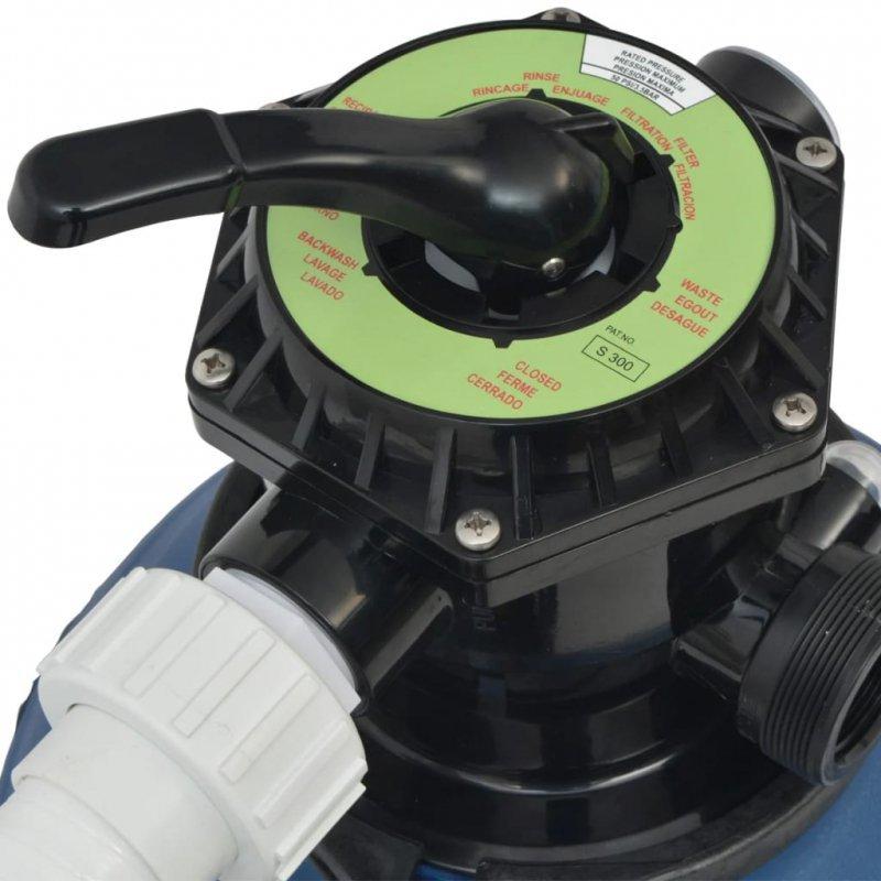 Pompa z filtrem piaskowym, 1000 W, 16800 L/h, XL